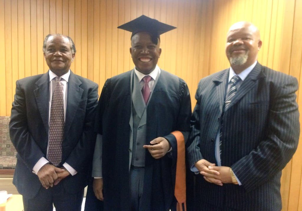 Julius Malema's Graduation Pics - SAPeople - Your ...