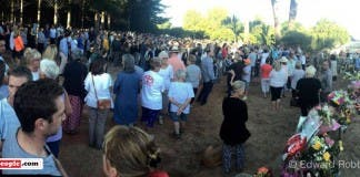 Tokai tragedy vigil