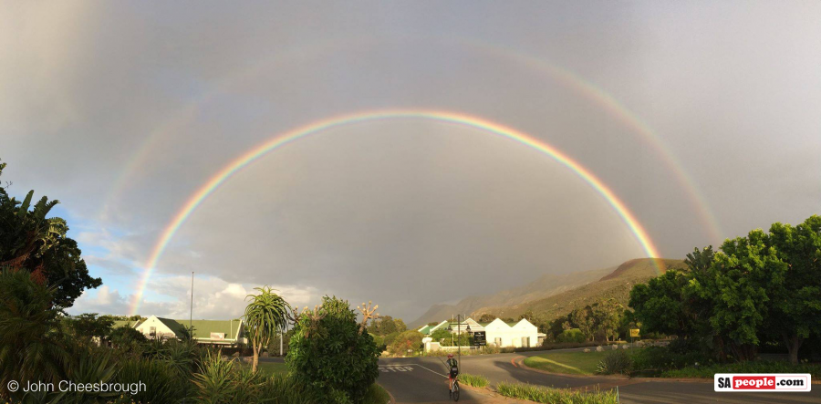 Hermanus rainbow