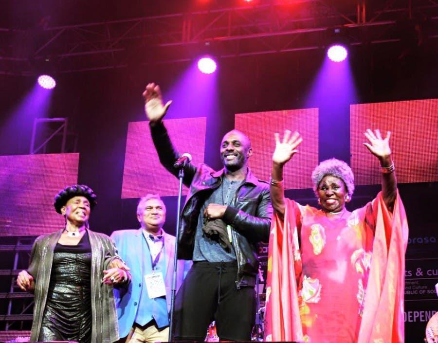 Idris Elba in Cape Town