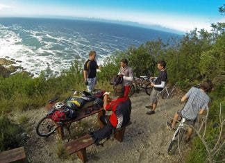 garden route biking