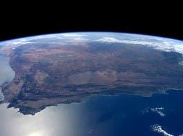 Tim Peake photo of South Africa