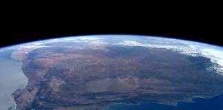 Tim Peake photo of South Africa
