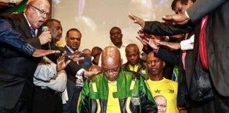 Zuma prayer