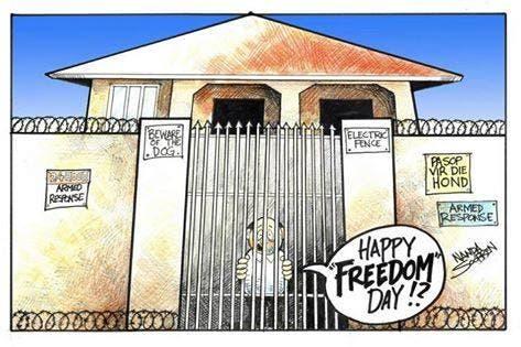 Freedom Day South Africa joke