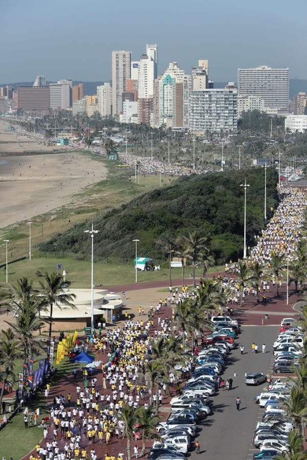 More than 30 000 people enjoyed a morning of fresh air, exercise and quality time with their loved ones