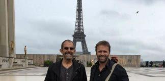 Architect winners at Eiffel Tower