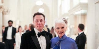 Elon Musk and mom Maye