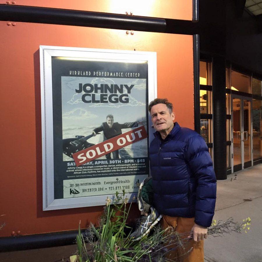 Johnny Clegg on US tour