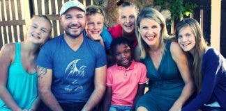 Jeremy Olivier and his beautiful family
