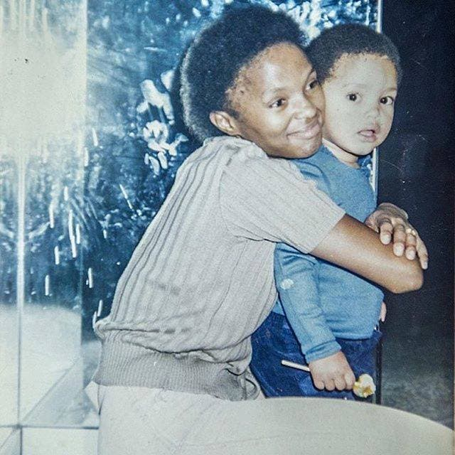 Trevor Noah and his mom