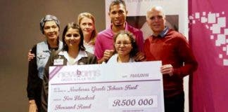 Wayde van Niekerk donation th