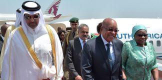 Zuma in Doha