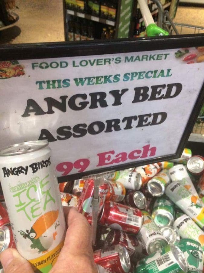 Angry Bed