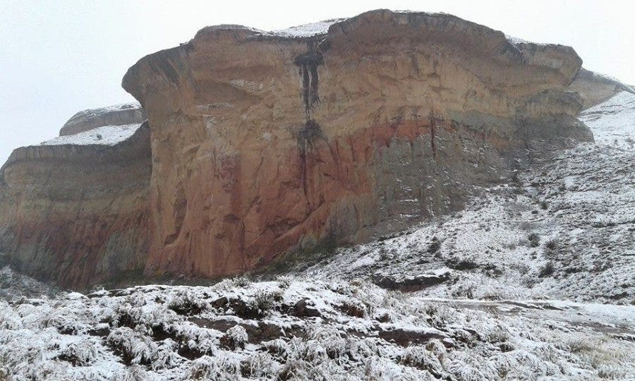 Source: SnowReportSA. Photo by Melisna MG Grobler - Golden Gate Highlands National Park (Free State)