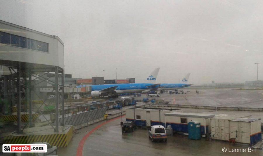 KLM Amsterdam airport