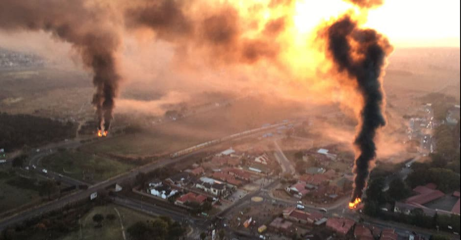 Image result for south africa 2016 burning tyres pretoria