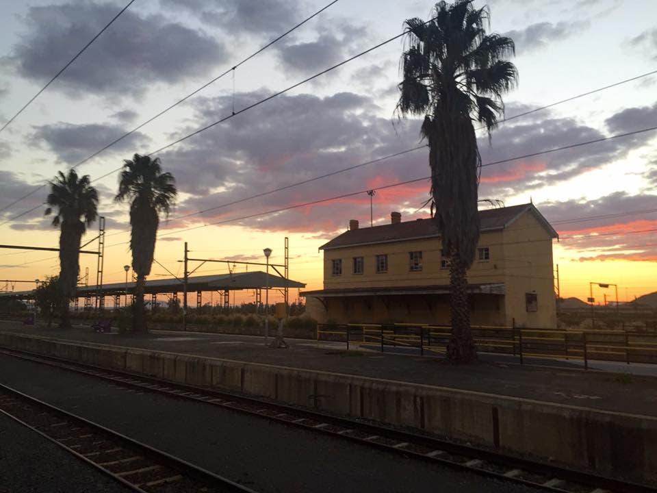 de aar station train
