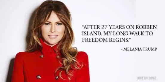 Melania Walk to Freedom