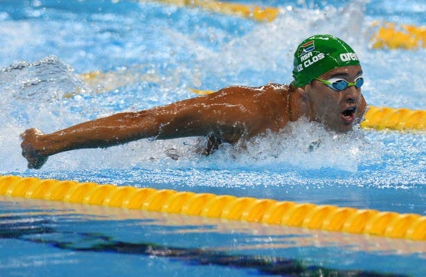 RIO DE JANEIRO, BRAZIL 8 AUGUST 2016. Chad le Clos during the semi-finals of the 200mutterfly at the Rio 2016 Olympic Games today. Copyright picture by WESSEL OOSTHUIZEN / SASPA