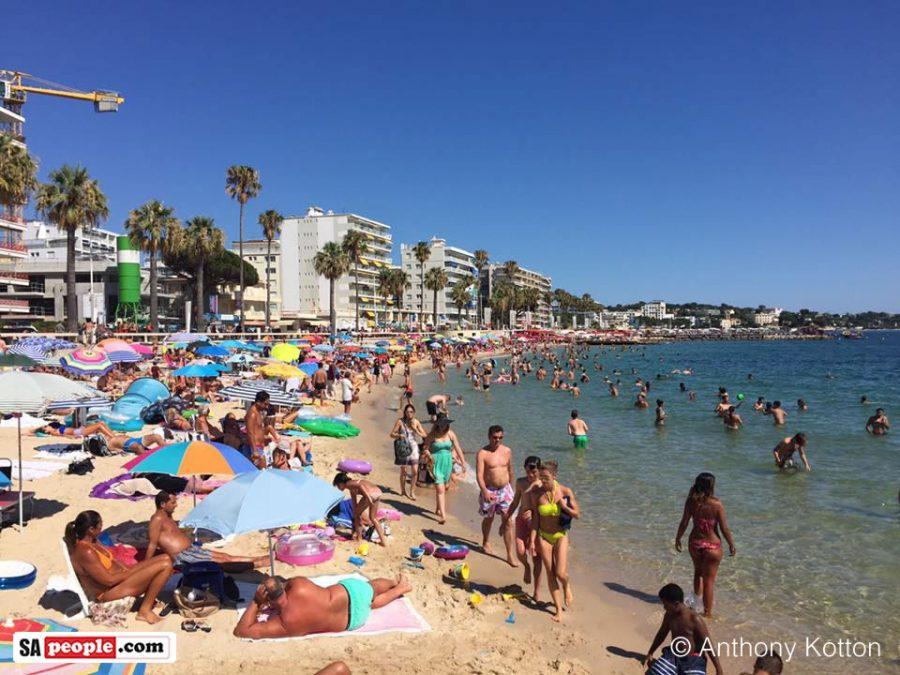 Juan Les Pins Bar Beach