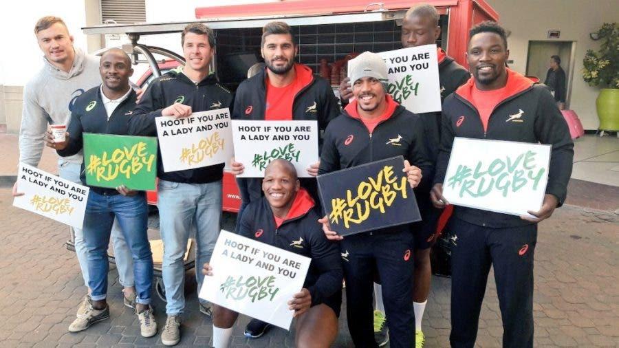 Springboks for Womens Day