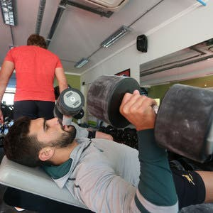 STELLENBOSCH, SOUTH AFRICA - AUGUST 01:  Damian de Allende during the South African national rugby team rehabilitation and conditioning camp at Stellenbosch Academy of Sport on August 01, 2016 in Stellenbosch, South Africa. (Photo by Carl Fourie/Gallo Images)