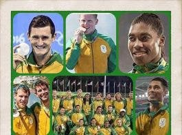 Team South Africa Rio 2016