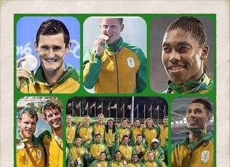 Team South Africa Rio 2016