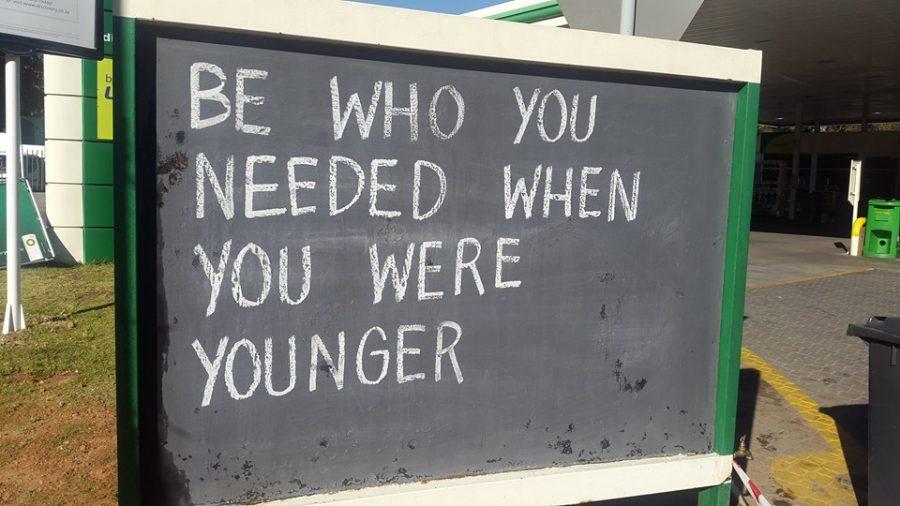 Hyde Park Petrol Pump Messages - Chalkboard Quotes