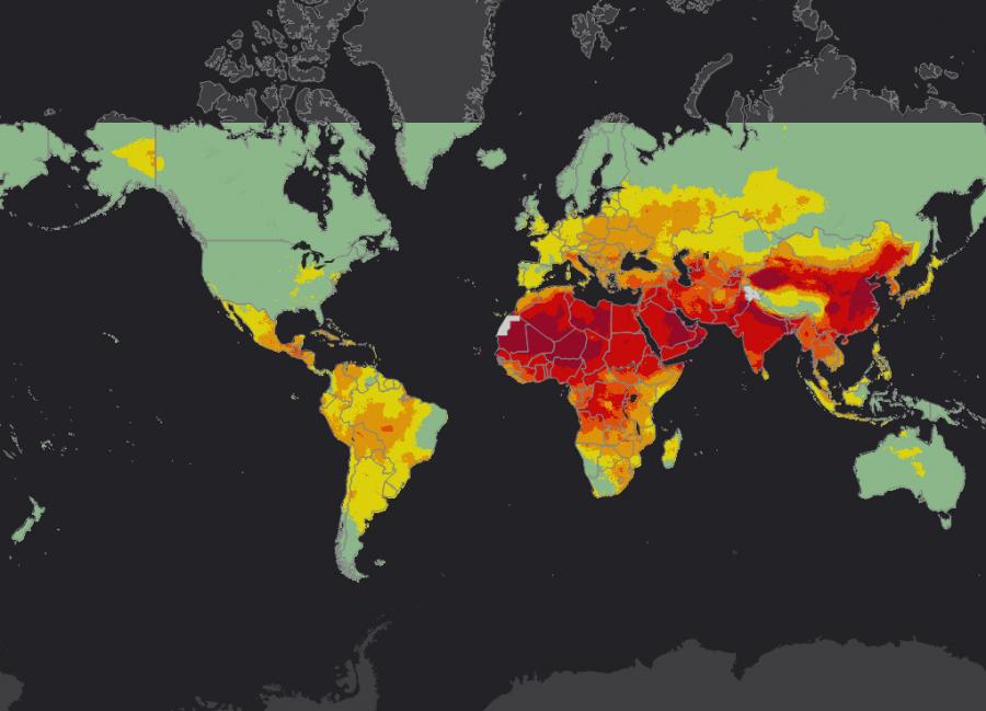 Map Air Pollution