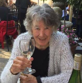 Paul's late mom, Marjorie Maartens - a diver, an artist, much loved by all