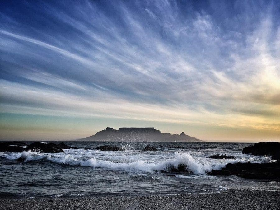 Paul Maartens Follow · 19 September · The end of an emotionally charged day. 'Till we meet again' — at Blouberg Beach.