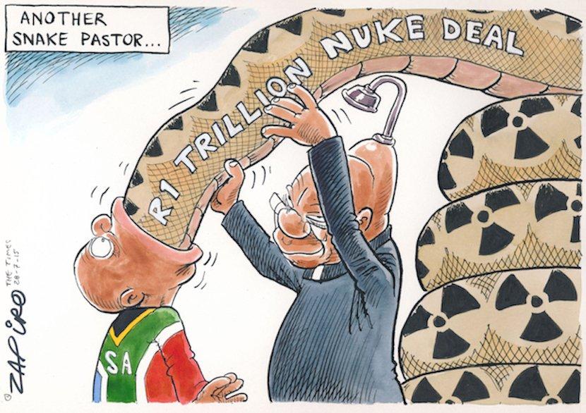 zapiro-zuma-forcing-nuke-deal