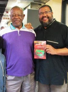 Athol Williams shared Theart Press's photo. 11 hrs · With the legendary poet Prof Wally Serote