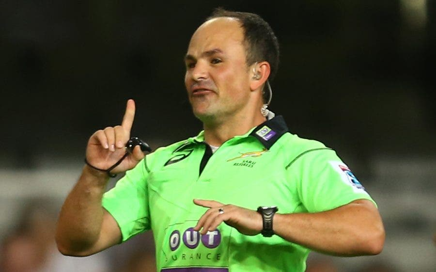 how to become a rugby referee in south africa