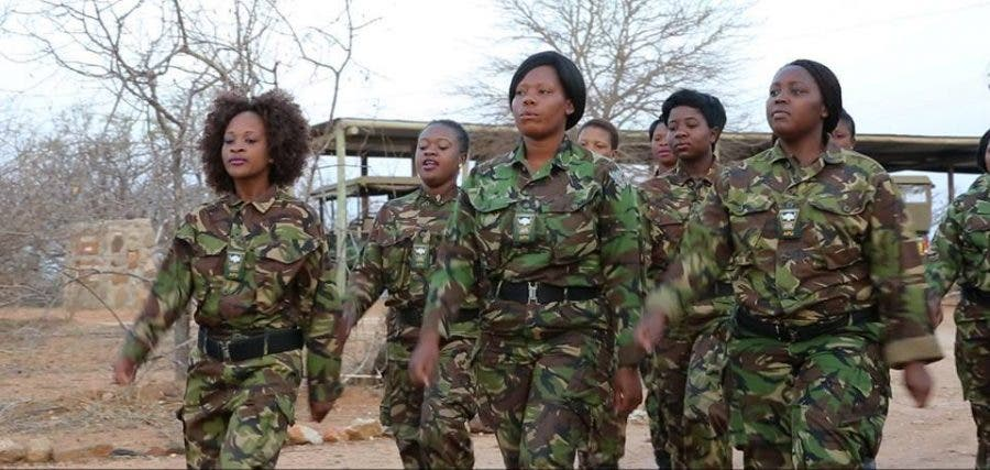 South Africa's Black Mambas anti-poaching unit. Source: FB/Black Mambas