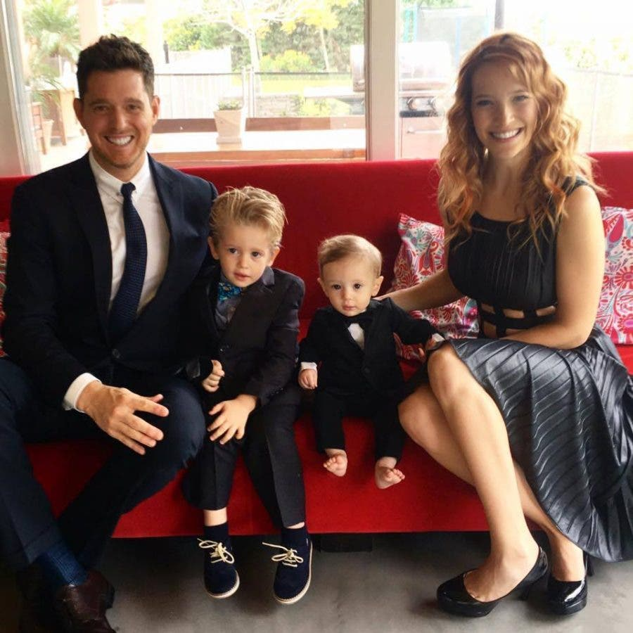 michael-buble-and-family