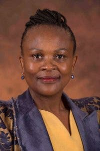 South Africa's Public Protector Mkhwebane. Source: FB/ PP