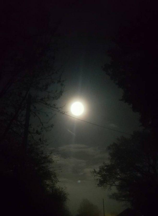 """Wendy Jayne - """"Super moon at Waseley hill top, UK."""""""