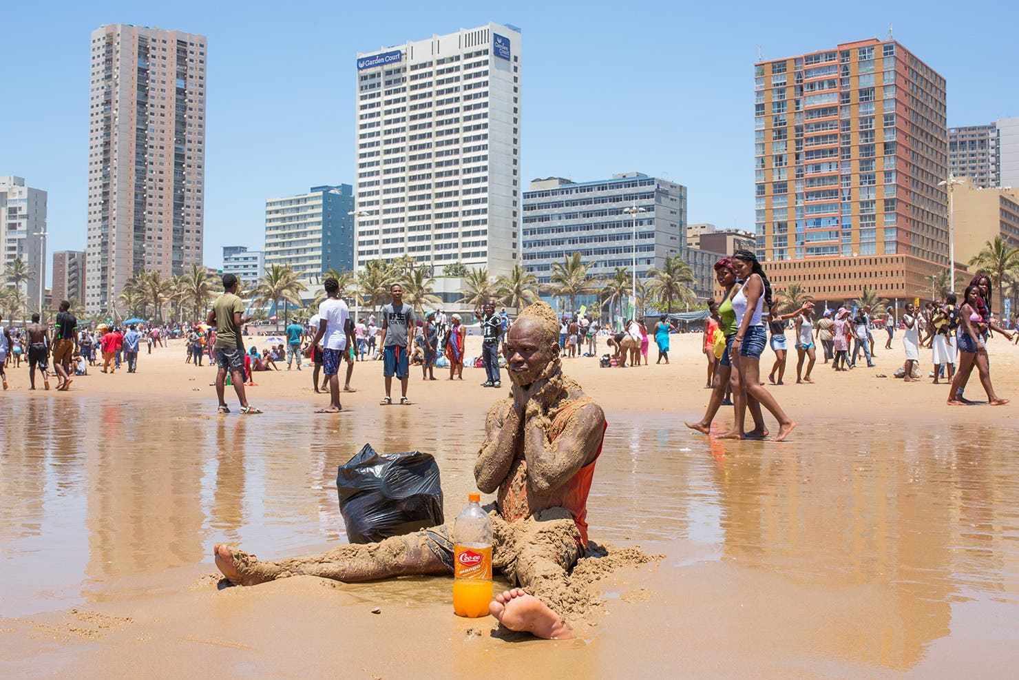 durban beach news year day1