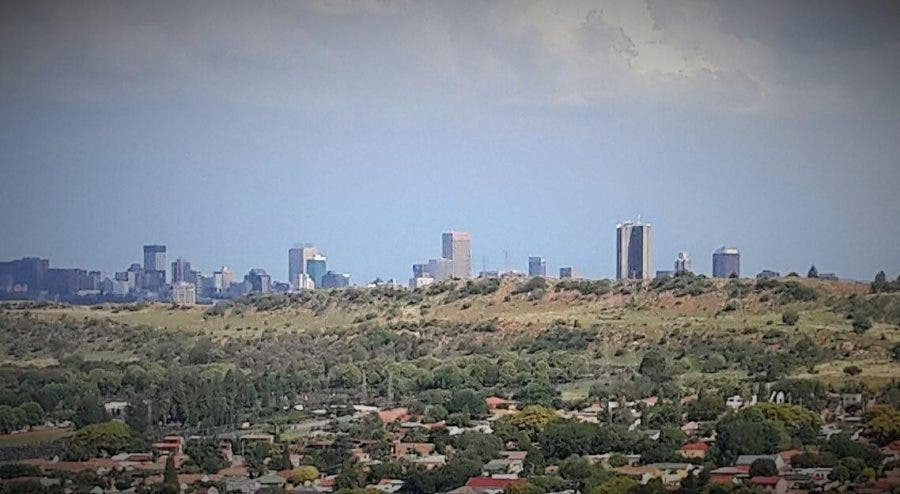 Joburg skyline from the West - Heritage Portal - 2016
