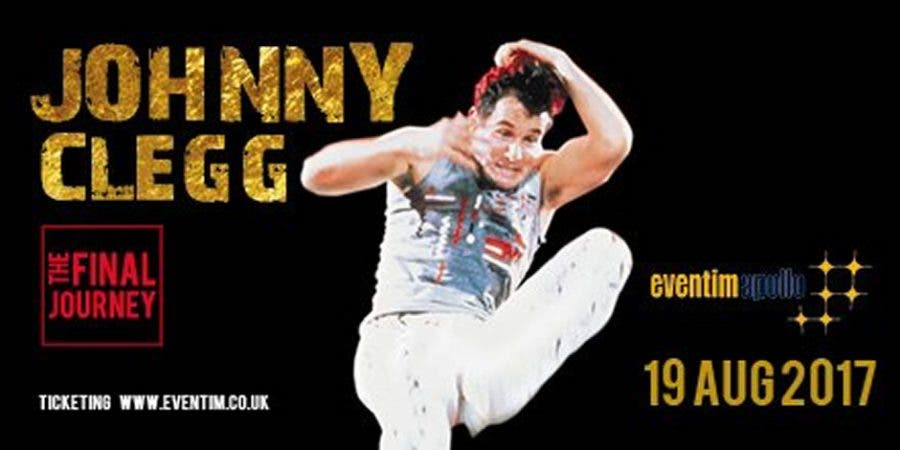 Johnny Clegg The Final World Tour  July