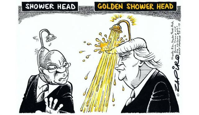 Golden shower fiction