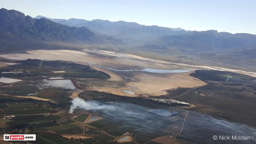 Theewaterskloof Dam Whats Left Looks Like Desert on Latest Write In The Rain