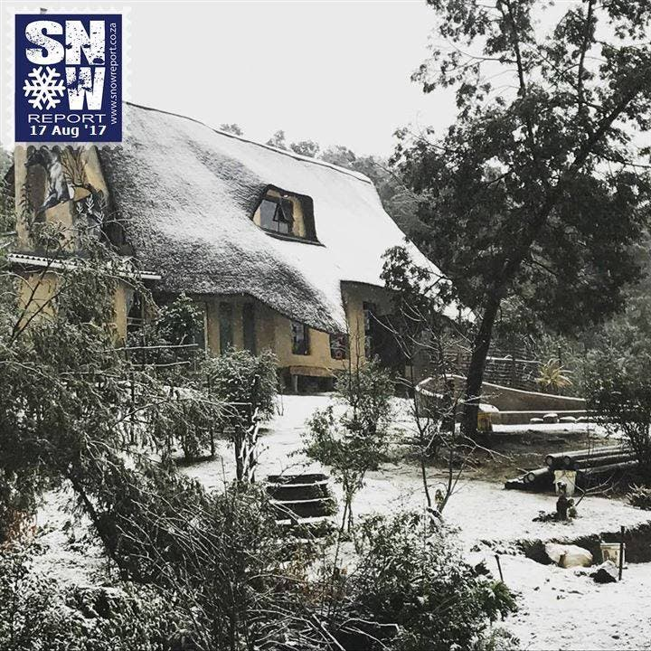 Snow in Hogsback