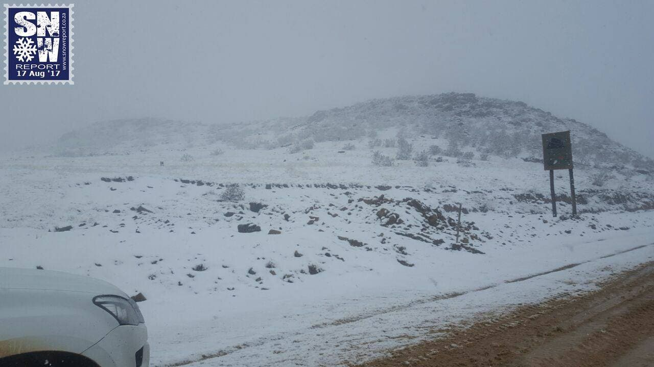Snow in Impendle KZN