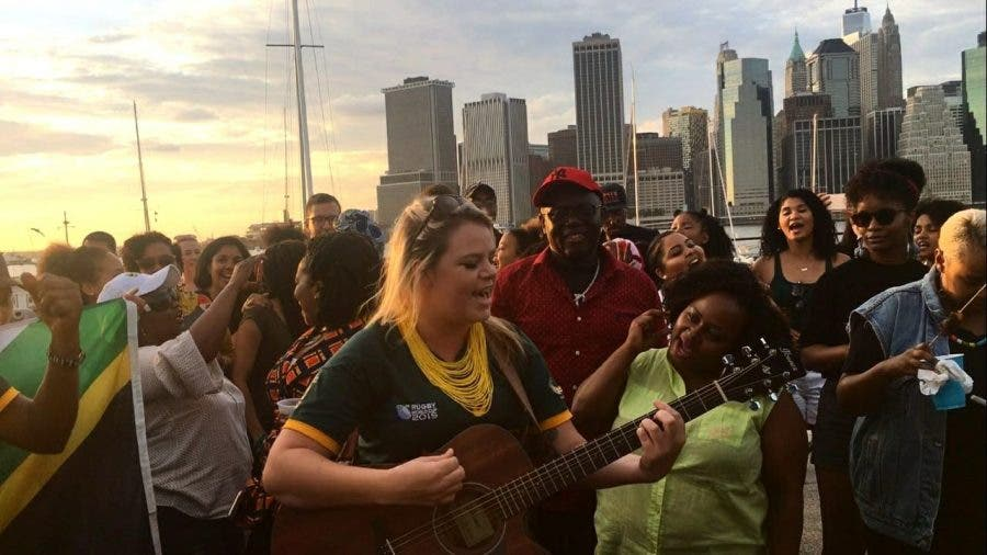 South African expats in New York