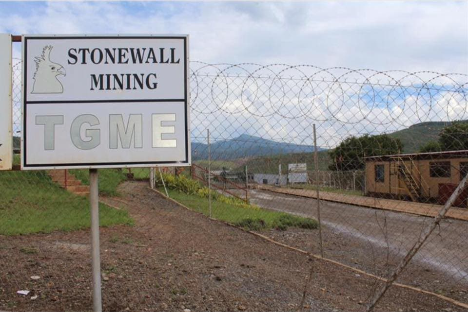 TMGE (Pty) LTD and Stonewall Mining (Australian Listed Company)
