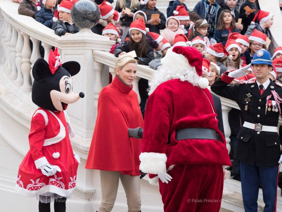 A Princess For Christmas Poster.Christmas In Monaco With Princess Charlene And Royal Family